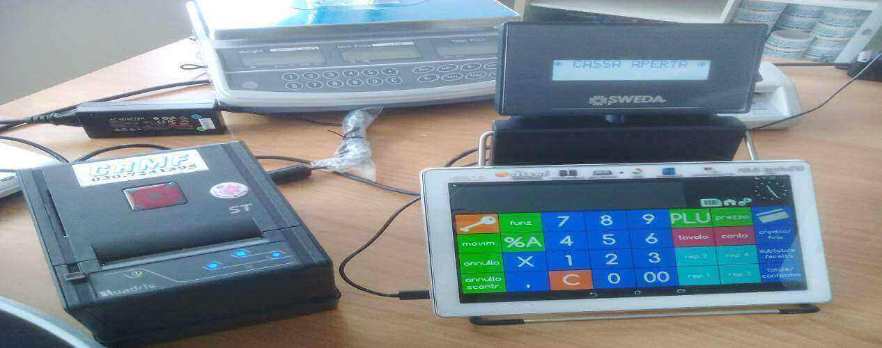 REGISTRATORE DI CASSA DITRON ZIP TABLET ANDROID