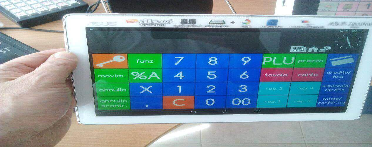 REGISTRATORE DI CASSA DITRONETWORK ZIP TABLET ANDROID