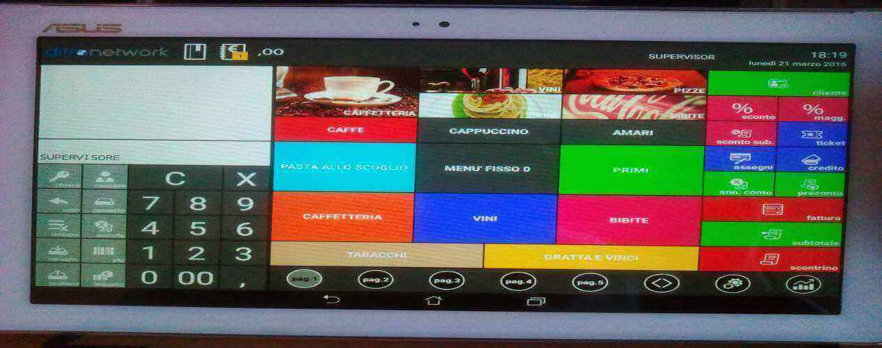 XPOS MOBILE SOFTWARE RISTORANTI TOUCH SCREEN CAMF VENDITA ASSISTENZA BRESCIA E PROVINCIA